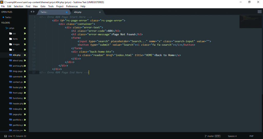 sublime text Text Editor for Programming