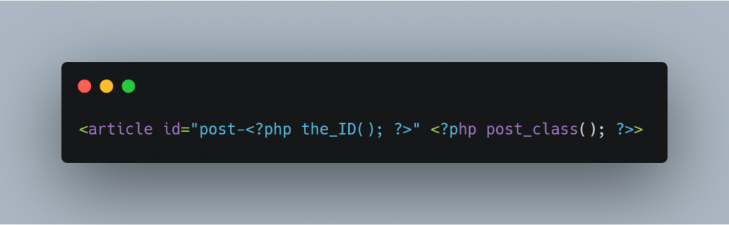php in wordpress